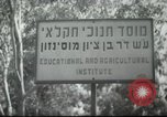 Image of agricultural school Palestine, 1945, second 5 stock footage video 65675065129