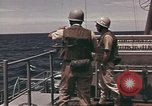 Image of USS Maddox Gulf of Tonkin Vietnam, 1964, second 11 stock footage video 65675065165