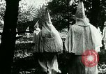 Image of Ku Klux Klan United States USA, 1923, second 6 stock footage video 65675065208