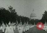 Image of Ku Klux Klan Washington DC USA, 1925, second 7 stock footage video 65675065210