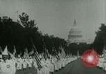 Image of Ku Klux Klan Washington DC USA, 1925, second 8 stock footage video 65675065210