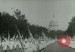 Image of Ku Klux Klan Washington DC USA, 1925, second 9 stock footage video 65675065210