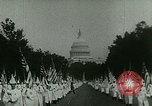 Image of Ku Klux Klan Washington DC USA, 1925, second 10 stock footage video 65675065210