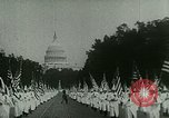 Image of Ku Klux Klan Washington DC USA, 1925, second 11 stock footage video 65675065210