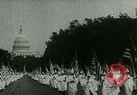 Image of Ku Klux Klan Washington DC USA, 1925, second 12 stock footage video 65675065210