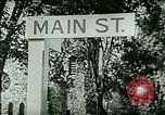 Image of Street scenes in small U.S. city United States USA, 1923, second 2 stock footage video 65675065211