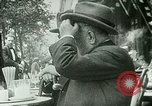 Image of Sidewalk cafe on Champs-Elysees Paris France, 1928, second 4 stock footage video 65675065235