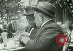 Image of Sidewalk cafe on Champs-Elysees Paris France, 1928, second 5 stock footage video 65675065235