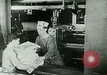 Image of Newspaper Printing Paris France, 1927, second 7 stock footage video 65675065237
