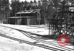 Image of railway track construction Germany, 1945, second 9 stock footage video 65675065256