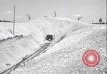 Image of railway track construction Germany, 1945, second 12 stock footage video 65675065256