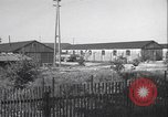 Image of liberated Nazi prison camp Germany, 1945, second 3 stock footage video 65675065257