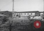 Image of liberated Nazi prison camp Germany, 1945, second 4 stock footage video 65675065257