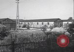 Image of liberated Nazi prison camp Germany, 1945, second 5 stock footage video 65675065257