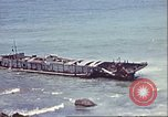 Image of supply ship aground Morocco North Africa, 1942, second 2 stock footage video 65675065268