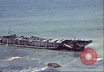 Image of supply ship aground Morocco North Africa, 1942, second 3 stock footage video 65675065268