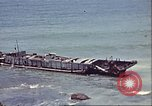 Image of supply ship aground Morocco North Africa, 1942, second 4 stock footage video 65675065268