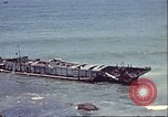 Image of supply ship aground Morocco North Africa, 1942, second 5 stock footage video 65675065268
