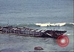 Image of supply ship aground Morocco North Africa, 1942, second 12 stock footage video 65675065268
