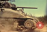 Image of U.S. Sherman tank North Africa, 1942, second 9 stock footage video 65675065274