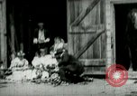 Image of husking bee West Orange New Jersey USA, 1898, second 2 stock footage video 65675065287