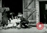 Image of husking bee West Orange New Jersey USA, 1898, second 3 stock footage video 65675065287