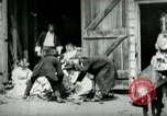 Image of husking bee West Orange New Jersey USA, 1898, second 7 stock footage video 65675065287