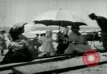 Image of Fashionably dressed women Coney Island New York USA, 1898, second 1 stock footage video 65675065290