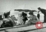 Image of Fashionably dressed women Coney Island New York USA, 1898, second 11 stock footage video 65675065290