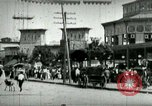 Image of street scene in Coney Island Coney Island New York USA, 1898, second 2 stock footage video 65675065292