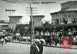 Image of street scene in Coney Island Coney Island New York USA, 1898, second 6 stock footage video 65675065292