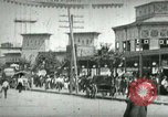 Image of street scene in Coney Island Coney Island New York USA, 1898, second 7 stock footage video 65675065292