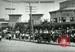 Image of street scene in Coney Island Coney Island New York USA, 1898, second 8 stock footage video 65675065292