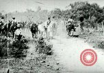 Image of army mules carry ammunition Cuba, 1898, second 1 stock footage video 65675065296