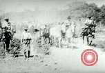 Image of army mules carry ammunition Cuba, 1898, second 6 stock footage video 65675065296
