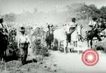 Image of army mules carry ammunition Cuba, 1898, second 7 stock footage video 65675065296