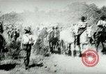 Image of army mules carry ammunition Cuba, 1898, second 8 stock footage video 65675065296