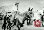 Image of army mules carry ammunition Cuba, 1898, second 10 stock footage video 65675065296