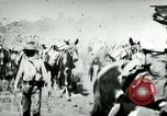 Image of army mules carry ammunition Cuba, 1898, second 11 stock footage video 65675065296