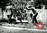 Image of Man chopping wood United States USA, 1898, second 3 stock footage video 65675065304