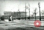 Image of Firemen responding to alarm Chicago Illinois USA, 1896, second 4 stock footage video 65675065305