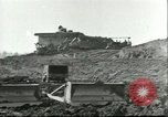 Image of Crocodile Highway Pile Bridge Wesel Germany, 1945, second 2 stock footage video 65675065306