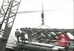 Image of railroad bridge Wesel Germany, 1945, second 1 stock footage video 65675065307