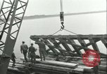Image of railroad bridge Wesel Germany, 1945, second 3 stock footage video 65675065307