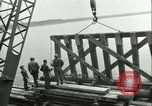 Image of railroad bridge Wesel Germany, 1945, second 10 stock footage video 65675065307