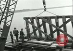 Image of railroad bridge Wesel Germany, 1945, second 11 stock footage video 65675065307