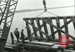 Image of railroad bridge Wesel Germany, 1945, second 12 stock footage video 65675065307