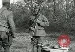 Image of African American soldiers  France, 1918, second 7 stock footage video 65675065324