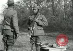 Image of African American soldiers  France, 1918, second 10 stock footage video 65675065324