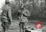 Image of African American soldiers  France, 1918, second 11 stock footage video 65675065324